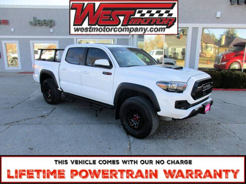 2019 Toyota Tacoma for sale at West Motor Company in Hyde Park UT