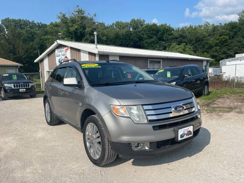 2008 Ford Edge for sale at Victor's Auto Sales Inc. in Indianola IA