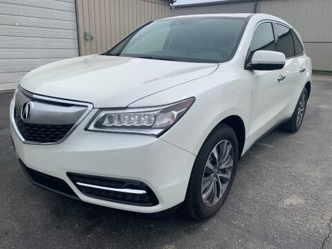 2016 Acura MDX for sale at Driving Xcellence in Jeffersonville IN