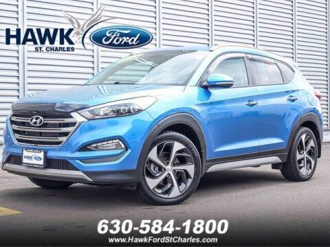 2018 Hyundai Tucson for sale at Hawk Ford of St. Charles in St Charles IL