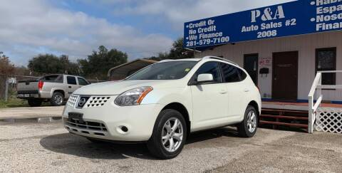 2009 Nissan Rogue for sale at P & A AUTO SALES in Houston TX