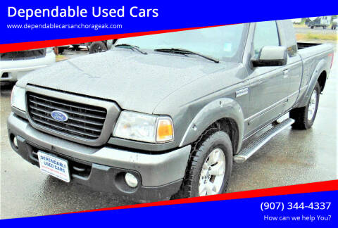 2009 Ford Ranger for sale at Dependable Used Cars in Anchorage AK
