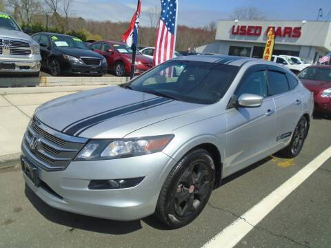 2011 Honda Accord Crosstour for sale at Island Auto Buyers in West Babylon NY