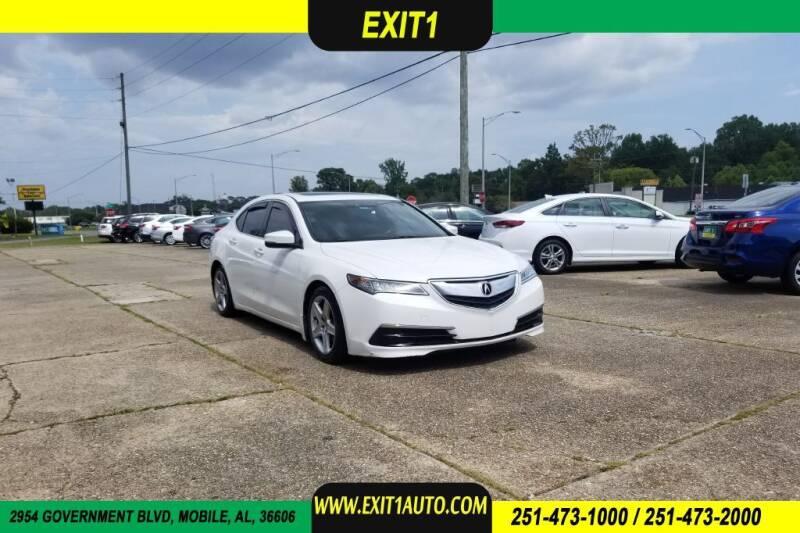 2015 Acura TLX for sale at Exit 1 Auto in Mobile AL