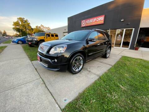 2012 GMC Acadia for sale at HOUSE OF CARS CT in Meriden CT