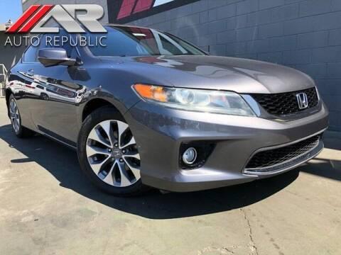 2013 Honda Accord for sale at Auto Republic Fullerton in Fullerton CA