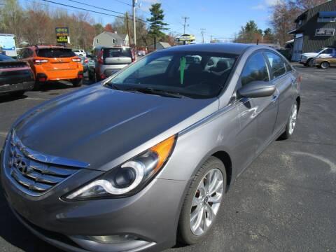 2013 Hyundai Sonata for sale at Route 12 Auto Sales in Leominster MA