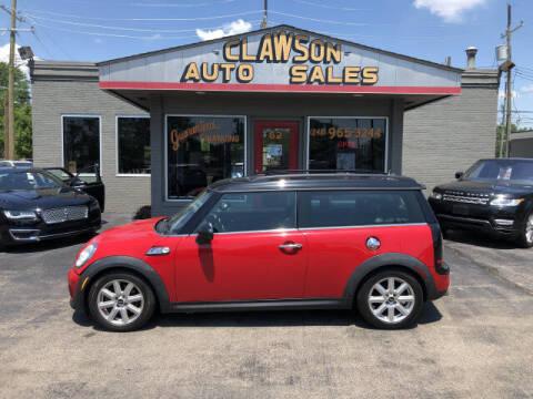 2011 MINI Cooper Clubman for sale at Clawson Auto Sales in Clawson MI