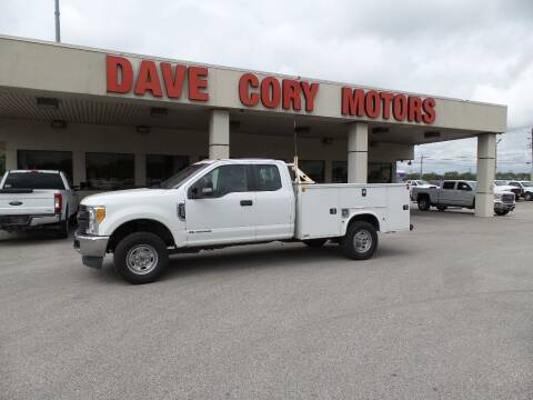 2017 Ford F-350 Super Duty for sale at DAVE CORY MOTORS in Houston TX