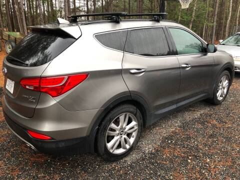 2014 Hyundai Santa Fe Sport for sale at XCELERATION AUTO SALES in Chester VA