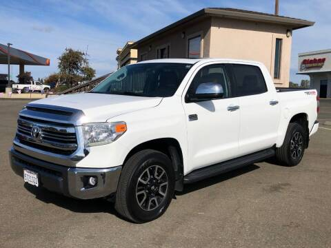 2016 Toyota Tundra for sale at Deruelle's Auto Sales in Shingle Springs CA