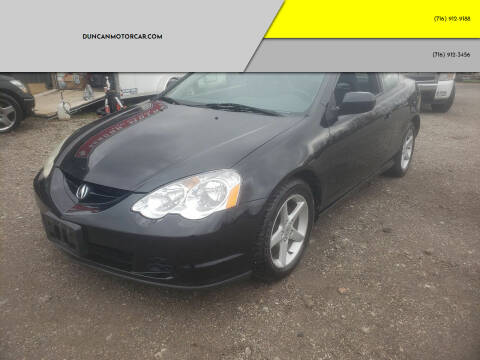 2003 Acura RSX for sale at DuncanMotorcar.com in Buffalo NY