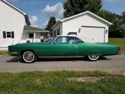 1972 Cadillac Fleetwood for sale at Classic Car Deals in Cadillac MI