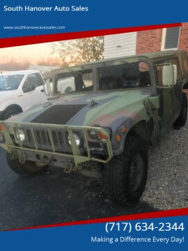 1989 AM General Hummer for sale at South Hanover Auto Sales in Hanover PA