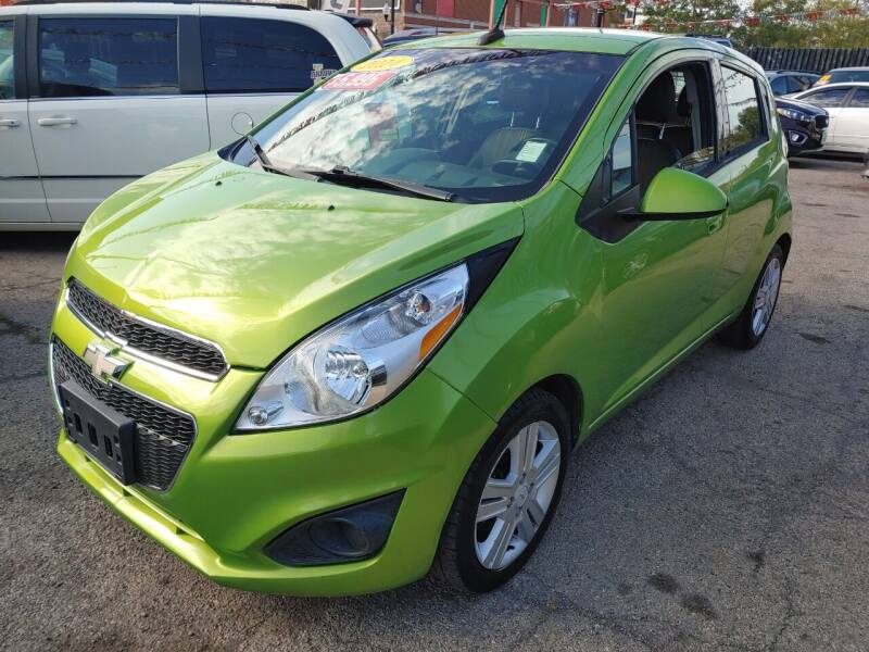 2014 Chevrolet Spark for sale at JIREH AUTO SALES in Chicago IL