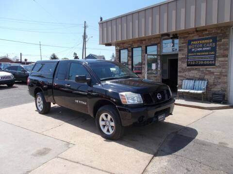 2005 Nissan Titan for sale at Preferred Motor Cars of New Jersey in Keyport NJ