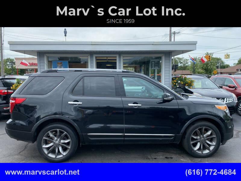 2013 Ford Explorer for sale at Marv`s Car Lot Inc. in Zeeland MI