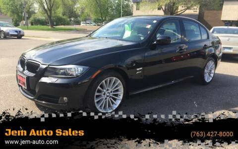 2009 BMW 3 Series for sale at Jem Auto Sales in Anoka MN