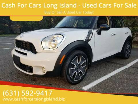 2011 MINI Cooper Countryman for sale at Cash For Cars Long Island - Used Cars For Sale in Lindenhurst NY