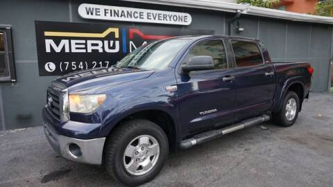 2008 Toyota Tundra for sale at Meru Motors in Hollywood FL
