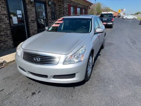 2009 Infiniti G37 Sedan for sale at Smyrna Auto Sales in Smyrna TN