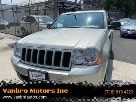2008 Jeep Grand Cherokee for sale at Vanbro Motors Inc in Staten Island NY