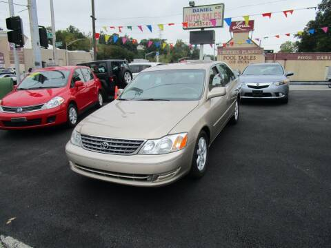 2003 Toyota Avalon for sale at Daniel Auto Sales in Yonkers NY