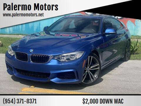 2016 BMW 4 Series for sale at Palermo Motors in Hollywood FL