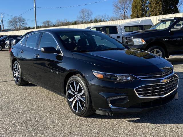 2018 Chevrolet Malibu for sale at Miller Auto Sales in Saint Louis MI