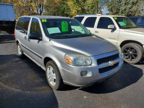 2006 Chevrolet Uplander for sale at Stach Auto in Janesville WI