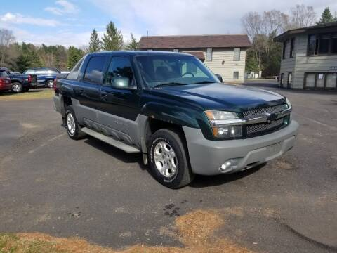 2002 Chevrolet Avalanche for sale at Shores Auto in Lakeland Shores MN