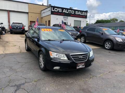 2009 Hyundai Sonata for sale at Lo's Auto Sales in Cincinnati OH