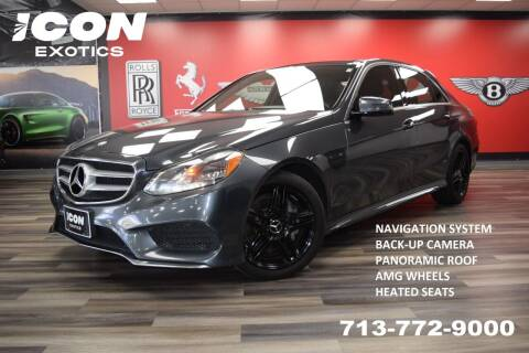 2014 Mercedes-Benz E-Class for sale at Icon Exotics in Houston TX