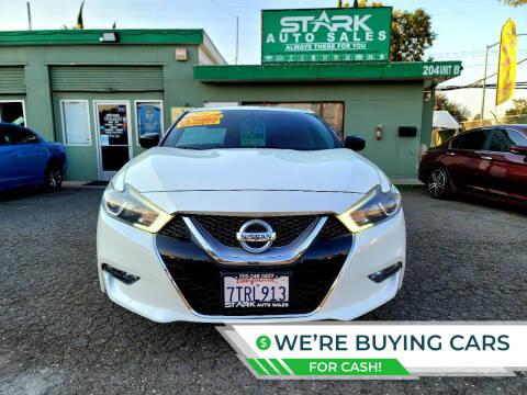 2017 Nissan Maxima for sale at Stark Auto Sales in Modesto CA
