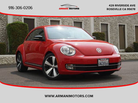 2012 Volkswagen Beetle for sale at Armani Motors in Roseville CA