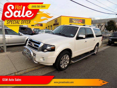 2011 Ford Expedition EL for sale at GSM Auto Sales in Linden NJ