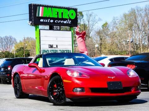 2005 Chevrolet Corvette for sale at Used Imports Auto - Metro Auto Credit in Smyrna GA