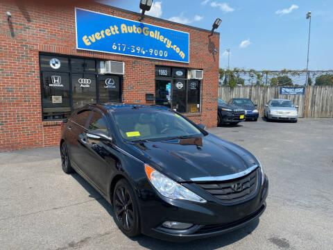2012 Hyundai Sonata for sale at Everett Auto Gallery in Everett MA
