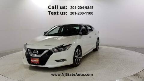 2017 Nissan Maxima for sale at NJ State Auto Used Cars in Jersey City NJ
