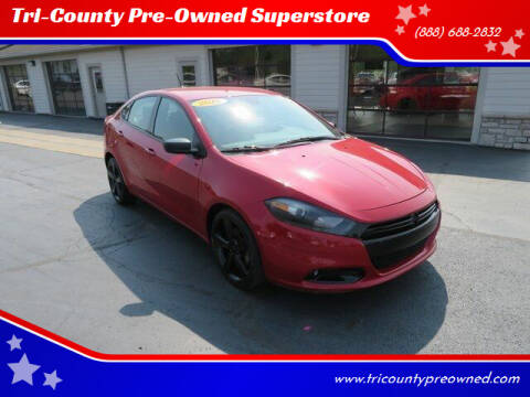 2016 Dodge Dart for sale at Tri-County Pre-Owned Superstore in Reynoldsburg OH