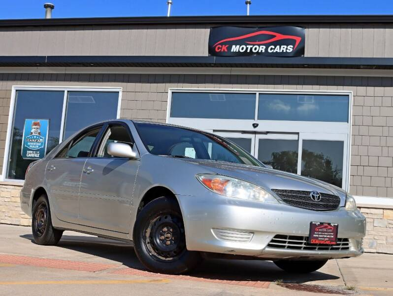 2004 Toyota Camry for sale at CK MOTOR CARS in Elgin IL