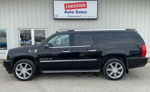 2014 Cadillac Escalade ESV for sale at Certified Auto Sales in Des Moines IA