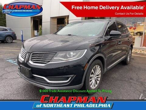 2016 Lincoln MKX for sale at CHAPMAN FORD NORTHEAST PHILADELPHIA in Philadelphia PA