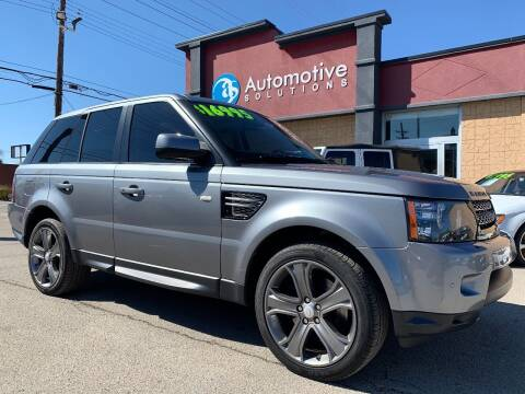 2012 Land Rover Range Rover Sport for sale at Automotive Solutions in Louisville KY