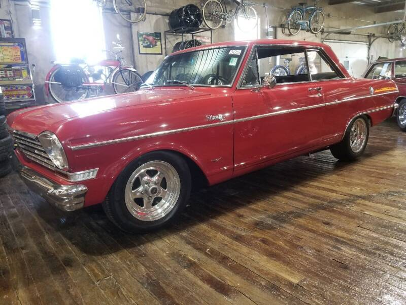 1964 Chevrolet Nova for sale at Great Lakes Classic Cars & Detail Shop in Hilton NY