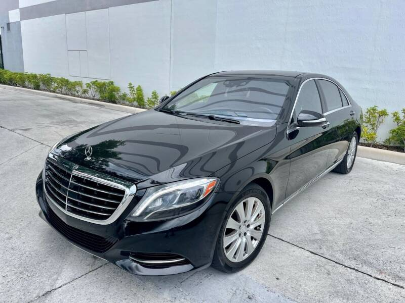 2015 Mercedes-Benz S-Class for sale at Auto Beast in Fort Lauderdale FL