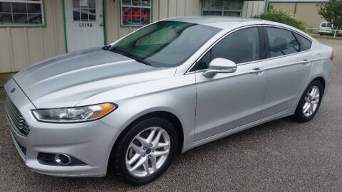 2013 Ford Fusion for sale at Haigler Motors Inc in Tyler TX