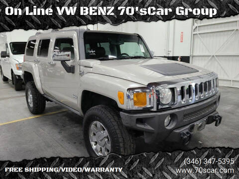 2006 HUMMER H3 for sale at On Line VW BENZ 70'sCar Group in Warehouse CA