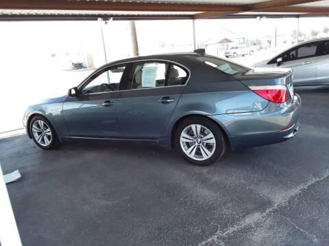 2010 BMW 5 Series for sale at Kann Enterprises Inc. in Lovington NM
