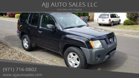 2007 Nissan Xterra for sale at McMinnville Auto Sales LLC in Mcminnville OR